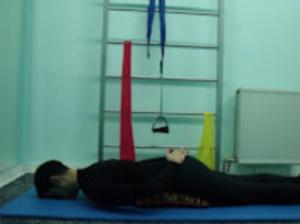 Ασκήσεις ραχιαίων. Πρηνής θέση